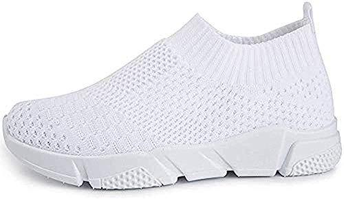 Alexis Leroy Zapatos Deportivos Ligeros para Correr Transpirables para Mujer Blanca 37 EU