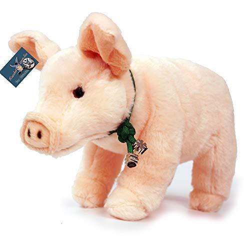 Kuscheltiere.biz Ferkel Babe Schwein Glücksschwein 22 cm Plüschtier