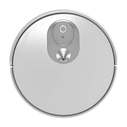 New C&L Chun Li Robot vacuums, White Vision Navigation Full Automatic Sweeping and dragging Integrat...