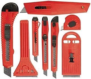 MTX Retractable Blades Knives Set, 9mm-4, 18mm-2 + Retractable Scrapers, Fixed Blade, 40-52mm, 2 Pcs (789919)