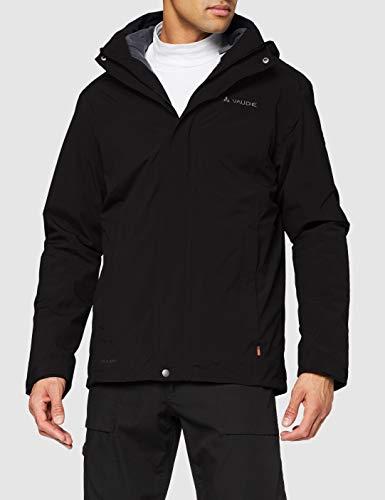 VAUDE Herren Doppeljacke Kintail 3in1 Jacket III, Black, L, 407240105400