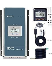 80A MPPTソーラーパネル・太陽光発電チャージコントローラー 80A 12/24/36/48V DC自動認識 Tracer8420AN
