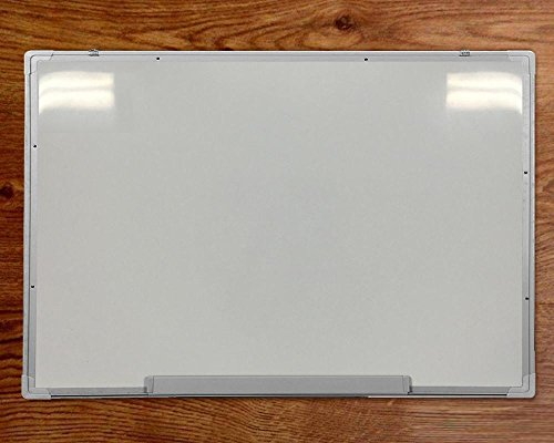 """go2buy 48""""x 36"""" Magnetic Dry Wipe Whiteboard Eraser Memo Teaching Board w/Protective Film, Pen Tray, Eraser, Magnets"""