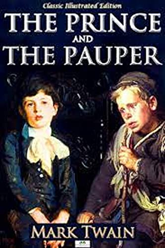 The Prince and the Pauper by Mark Twain illustrated edition