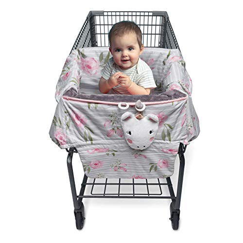 Boppy Preferred Shopping Cart & Restaurant High Chair Cover,...