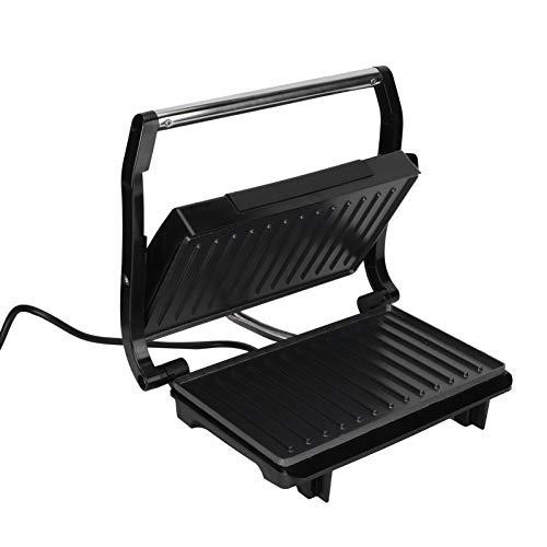 Griglia elettrica,griglia per interni antiaderente rimovibile e facile da pulire, griglia elettrica per barbecue a doppio riscaldamento da 750 W per bistecche,barbecue,hamburger,panini,pesce(io)