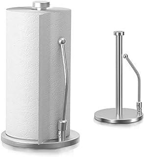 Portarrollos de Papel de Cocina de Acero Inoxidable Soporte para Papel de Metal Porta Rollo Soporte para Toallas de Papel ...