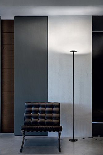 LINEA LIGHT POE_FL lámpara de pie color negro 25 W 700 mA