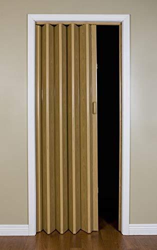 "LTL Home Products MLB3680K Malibu Interior Accordion Folding Door, 36"" x 80"", Oak"