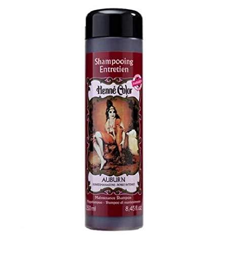 Henne Color Henné Champú Cuidado fácil 250 ml sin paraben auburn