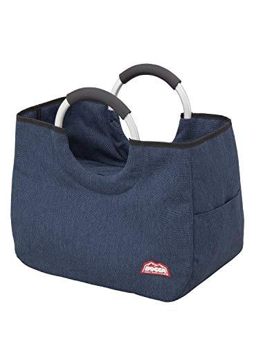 シービージャパン トートバッグ ネイビー 保冷 17L アルミハンドル 軽量タイプ BOCCA