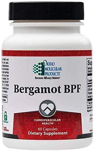 Bergamot Bpf Ortho Molecular - Promotes Healthy Cholesterol Levels, Multidimensional Support Cardiovascular Health, Supports Healthy Coq-10 Levelsб Preserves Arterial Health and Elasticity - 60pcs