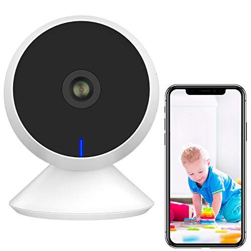7links Babyphone: Full-HD-IP-Überwachungskamera, smarte Nachtsicht, komp. zu Echo Show (Babyfon)