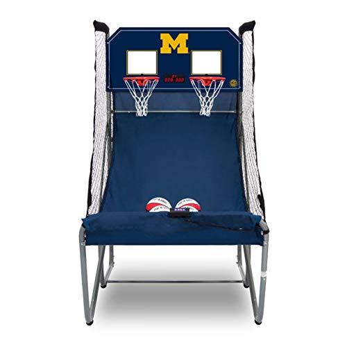 %33 OFF! Pop-A-Shot Home Dual Shot University of Michigan