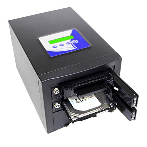 Acumen Disc True Imager 1 to 1 Target SATA 3.5' & 2.5' Hard Drive HDD Clone & SSD Memory Card Copier...