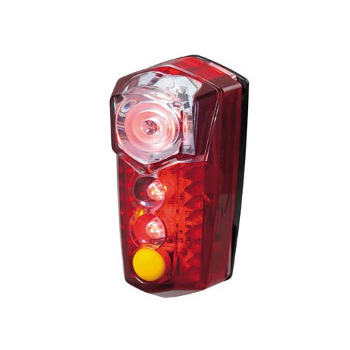 TOPEAK Mega RedLite Aero, luz Trasera Bicicleta, Unisex Adulto, Rojo, 7.5 x 3.8 x 3.7 cm