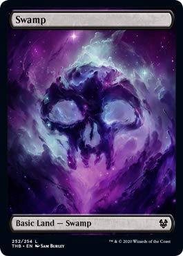 Magic: The Gathering - Swamp (252) - Foil - Theros Beyond Death
