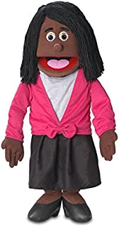 """30"""" Barbara, Black Mom / Teacher, Professional Performance Puppet with Removable Legs, Full or Half Body"""
