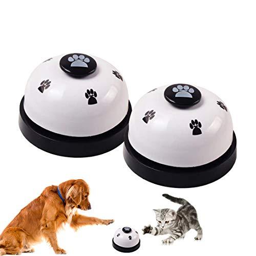 Trainingsglocken für Haustiere, Hundeglocken, Haustier Trainingsglocke für Hunde Einstellbare Hundetürklingel für Kleine und Größere Hunde Toilettentraining Glocke Interaktion Glocke - 2 Stück