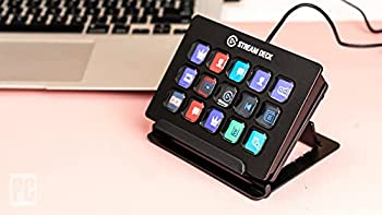 Elgato Stream Deck–Custom A 15Pack of LCD Key with Live Content Create Controller  Authorized Distributor 1Year Manufacturer Warranty