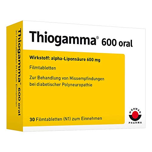 THIOGAMMA 600 oral Filmtabletten 30 St