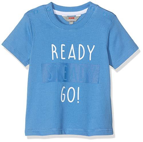 Kanz Baby-Jungen 1/4 Arm T-Shirt, Blau (Campanula|Blue 3160), 68