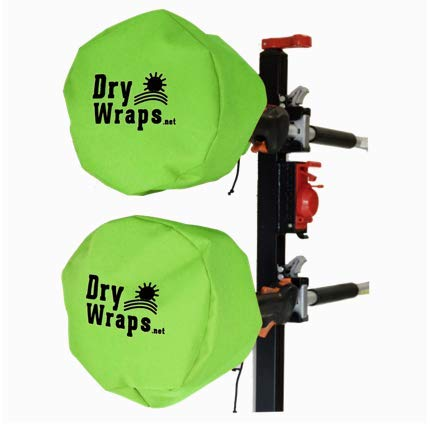 Waterproof Trimmer Cover - DRYWRAPS (Three Pack) - Edger, Pole Saw, for STIHL Echo Husqvarna … (Safety Green)