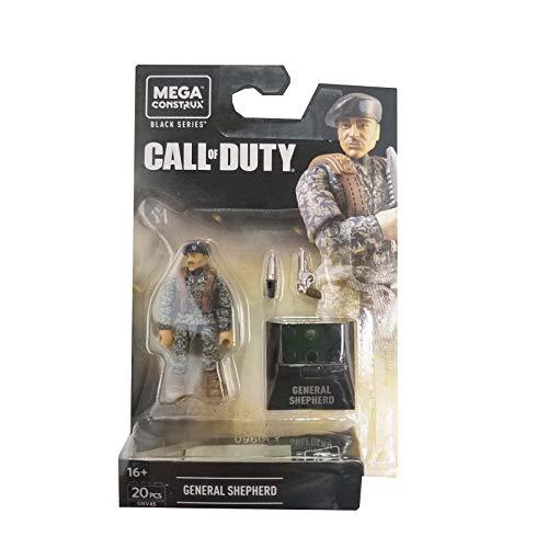 Mega Construx - Call of Duty GNV45 - Heroes Black Series General Shepherd