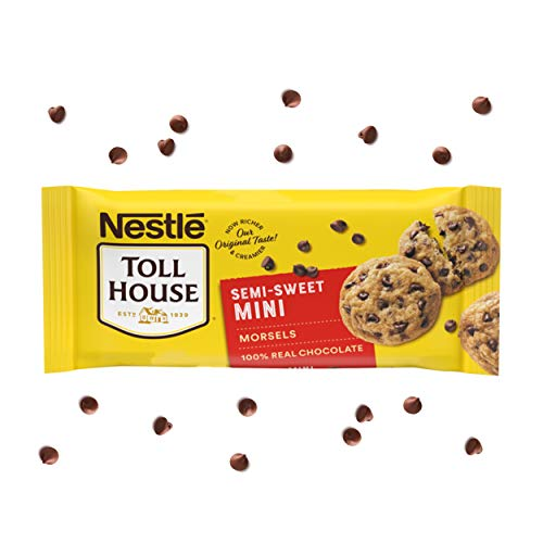 Nestle Toll House, Semi-Sweet Chocolate Chip Mini Morsels, 10 oz