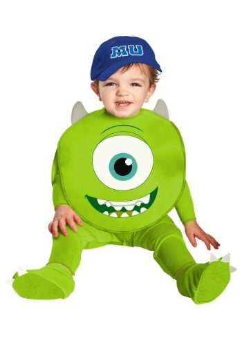 Baby Boys' Mike Classic Costume - 18mo Green