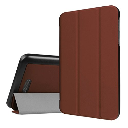 Acer Iconia One 7B1–780Caso, Ligero PU Funda de Piel con Soporte para Acer Iconia One 7B1–7807.0Inch Tablet marrón