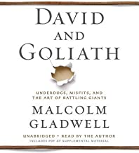David and Goliath : Underdogs, Misfits, and the Art of Battling Giants(CD-Audio) - 2013 Edition