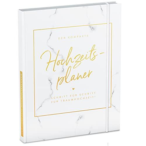 TWIVEE - Der kompakte Hochzeitsplaner - Wedding Planner - deutsch - über 120 Seiten - Organizer für Eure Trauung - Buch zur Hochzeit - Ideales Verlobungsgeschenk
