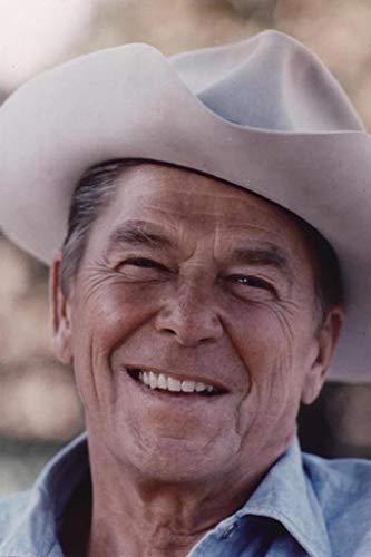 Ronald Reagan Cowboy Hat Photo Cool Wall Decor Art Print Poster 24x36