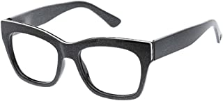 Peepers Women's Shine On - Blue Light Filtering Square Reading Glasses