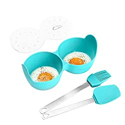 ESIE HOUZIE - Silicone Egg Poaching Cups