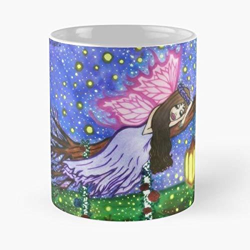 Sparklen Love Art Mellow Tranquility Hippie Peace Pop Psychedelic Migliore Tazza da caffè Regalo 11 oz