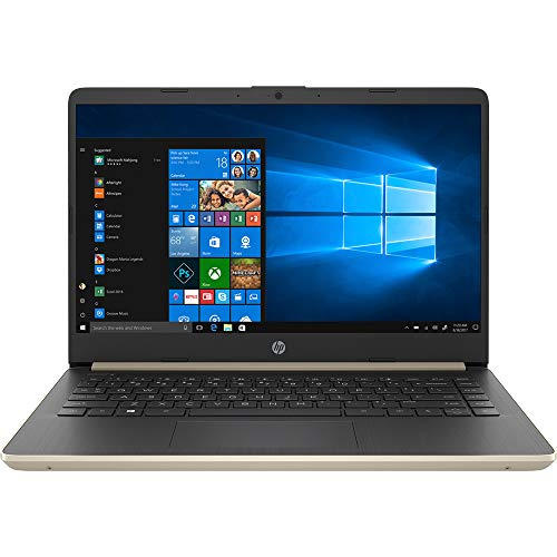 HP 14' Touchscreen Laptop 8GB RAM, 128GB SSD, 8th Gen i3 HD Business Notebook, Dual-Core up to 3.90 GHZ Processor, USB Type-C, 1366x768, UHD 620 Graphic, HDMI, Bluetooth, Webcam, Energy Star, Win 10