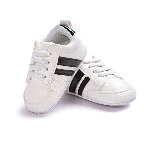 Zapatos de bebé, Kfnire Zapatillas de Deporte Casuales para bebés Zapatos de Suela Blanda Antideslizantes recién Nacidos (4.7 Pulgadas / 6-12 Meses, 03)