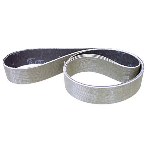 3M Trizact 237AA Schleifband-Gewebe-Schleifbänder | 75x2000 mm | 3 Stück | Korn-Körnung: A030 (P600)