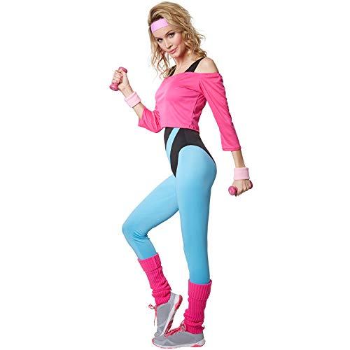 dressforfun 900572 Disfraz de Mujer Profesora de Aerobic, Traje ...