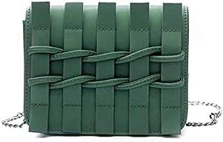 شي إن حقيبة للنساء-اخضر داكن - حقائب طويلة تمر بالجسم