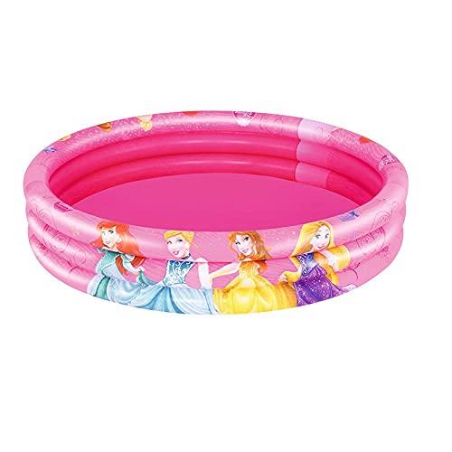 Waech 91047 - Piscina/piscina gonfiabile, rotondo, 3 boccette dimention, Ø 122 x 25 cm, Bestway 91047 (Bestway 91047, Ø 122 x 25 cm)