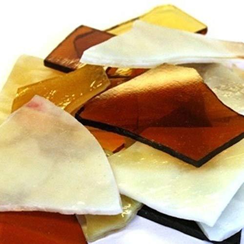 Hobby Island Professioneller Crazy Gehwegplatten Gebeizt Glas, Rot