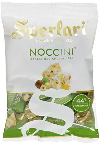 Sperlari NOCCINI Haselnuss - Weißer Nougat mit fein gerösteten Haselnüssen und dem Aroma von sonnengereiften Zitronen, 11er Pack (11 x 130 g)
