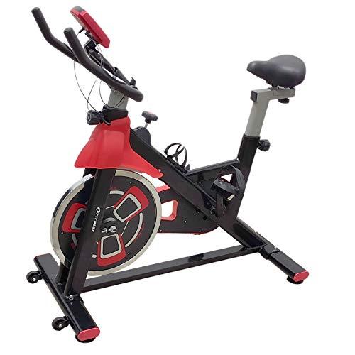 FFitness Indoor Spinning Bike Cycling Bicicletta per Allenamento in Casa con Tampone in Feltro, Cardio e Volano 13kg