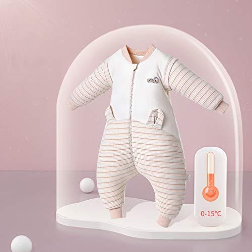 LYNNNDRE baby's met lange mouwen kunnen zakken/deken slapen en dikke kinderbeenzakken verbeteren duidelijk slapen dragen en baby's rustig houden.