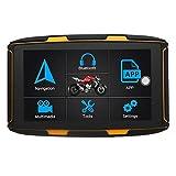 Motocicleta GPS Moto navegación por satélite GPS de 5 Pulgadas del Jinete de la Motocicleta del velocímetro 1G RAM + 16G ROM Android BT GPS Moto