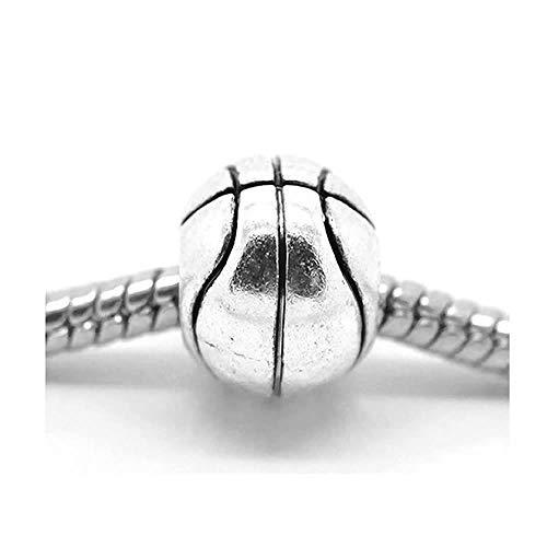 Sexy Sparkles Damen Basketball Charm Spacer Perlen Charm