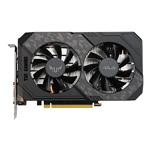 ASUS TUF Gaming GeForce GTX 1660 Super 6GB GDDR6 - Tarjeta gráfica (OC 1815 MHz, 7680x4320, PCI Express 3.0) Negro